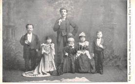 cir003331 - Circus Post Card, Old Vintage Antique Postcard