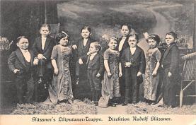 cir003335 - Circus Post Card, Old Vintage Antique Postcard