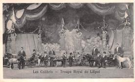 cir003341 - Circus Post Card, Old Vintage Antique Postcard