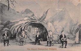 cir003343 - Circus Post Card, Old Vintage Antique Postcard