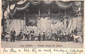 cir003345 - Circus Post Card, Old Vintage Antique Postcard