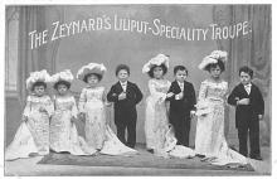 cir003349 - Circus Post Card, Old Vintage Antique Postcard