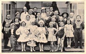 cir003351 - Circus Post Card, Old Vintage Antique Postcard