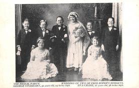 cir003353 - Circus Post Card, Old Vintage Antique Postcard