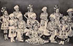 cir003363 - Circus Post Card, Old Vintage Antique Postcard