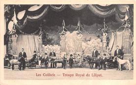 cir003365 - Circus Post Card, Old Vintage Antique Postcard