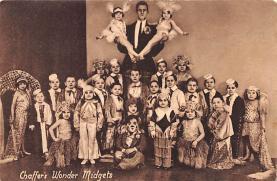 cir003379 - Circus Post Card, Old Vintage Antique Postcard