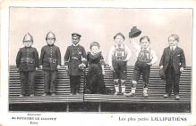 cir003387 - Circus Post Card, Old Vintage Antique Postcard