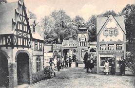 cir003393 - Circus Post Card, Old Vintage Antique Postcard