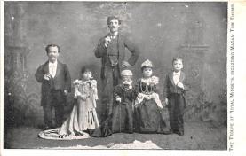 cir003397 - Circus Post Card, Old Vintage Antique Postcard