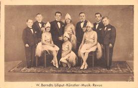 cir003403 - Circus Post Card, Old Vintage Antique Postcard