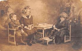 cir003415 - Circus Post Card, Old Vintage Antique Postcard
