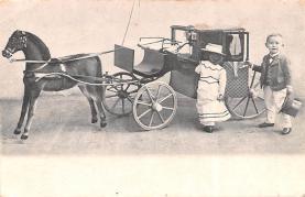 cir003419 - Circus Post Card, Old Vintage Antique Postcard
