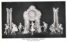 cir003423 - Circus Post Card, Old Vintage Antique Postcard