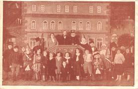cir003429 - Circus Post Card, Old Vintage Antique Postcard