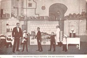 cir003431 - Circus Post Card, Old Vintage Antique Postcard
