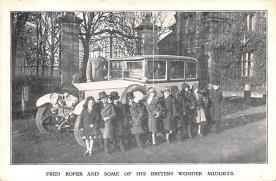 cir003433 - Circus Post Card, Old Vintage Antique Postcard