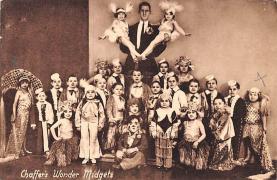 cir003437 - Circus Post Card, Old Vintage Antique Postcard