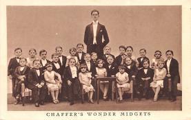 cir003439 - Circus Post Card, Old Vintage Antique Postcard