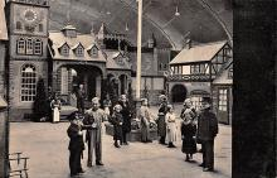 cir003443 - Circus Post Card, Old Vintage Antique Postcard