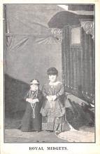 cir003445 - Circus Post Card, Old Vintage Antique Postcard