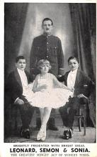 cir003451 - Circus Post Card, Old Vintage Antique Postcard