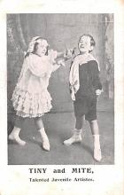 cir003455 - Circus Post Card, Old Vintage Antique Postcard