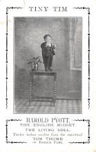 cir003459 - Circus Post Card, Old Vintage Antique Postcard