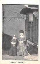 cir003477 - Circus Post Card, Old Vintage Antique Postcard