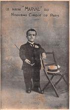 cir003501 - Circus Post Card, Old Vintage Antique Postcard