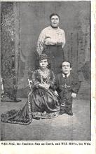 cir003519 - Circus Post Card, Old Vintage Antique Postcard