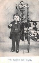cir003523 - Circus Post Card, Old Vintage Antique Postcard