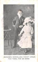 cir003525 - Circus Post Card, Old Vintage Antique Postcard