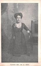 cir003529 - Circus Post Card, Old Vintage Antique Postcard