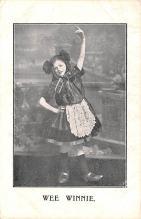 cir003571 - Circus Post Card, Old Vintage Antique Postcard