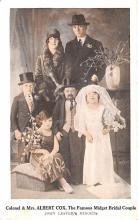 cir003575 - Circus Post Card, Old Vintage Antique Postcard