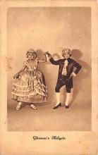 cir003577 - Circus Post Card, Old Vintage Antique Postcard