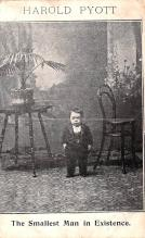 cir003579 - Circus Post Card, Old Vintage Antique Postcard