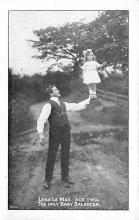 cir003589 - Circus Post Card, Old Vintage Antique Postcard