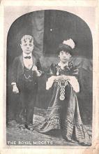 cir003631 - Circus Post Card, Old Vintage Antique Postcard