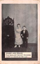 cir003635 - Circus Post Card, Old Vintage Antique Postcard