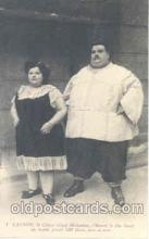 cir004002 - Cannon - Colossus Heaviest Fat Person, People Postcard Post Card