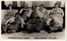 cir004008 - Heaviest Person Postcard Post Card