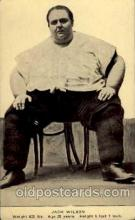 cir004020 - Heaviest Person Postcard