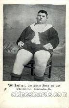 cir004090 - Wilhelm, Heaviest Person Postcard Post Card