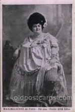 cir004094 - Maximilienne, Heaviest Person Postcard Post Card