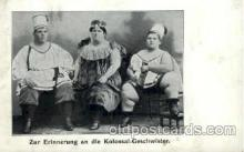 cir004115 - Kolossal- Geschwister, Heaviest Person Postcard Post Card