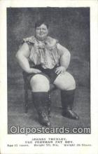 cir004136 - Johnny Trunlet, The Peckham Fat Boy Circus Postcard Post Card Old Vintage Antique