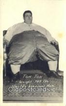 cir004139 - Tom Tom Worlds Heaviest Man Circus Postcard Post Card Old Vintage Antique