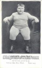 cir004141 - Johnny Trunlet, The Peckham Fat Boy Circus Postcard Post Card Old Vintage Antique